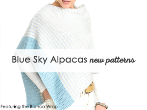Blue Sky Alpacas new patterns