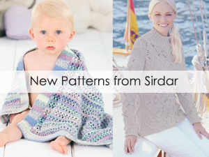 New Patterns from Sirdar