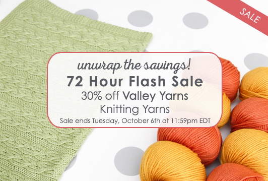 Valley Yarns Flash Sale