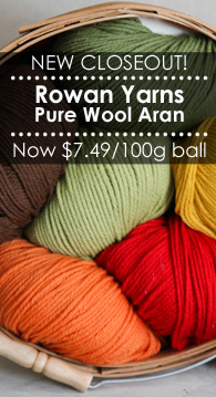 Rowan Pure Wool Aran Yarn Closeout