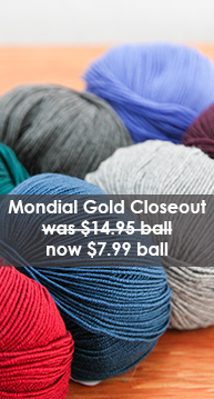 Mondial Gold Yarn Closeout