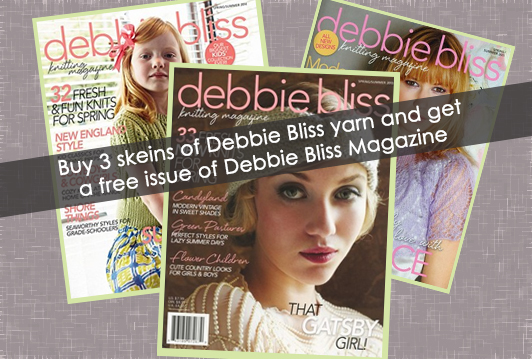 Debbie Bliss Magazine Promotion