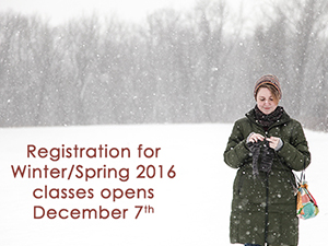 Winter/Spring Classes at WEBS