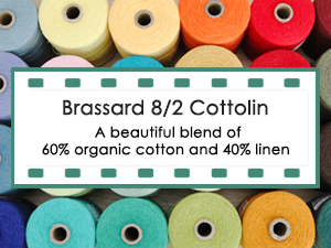 brassard 8/2 Cottolin Yarn