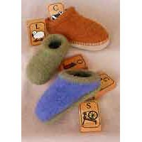 CH38X Children's Felt Clogs