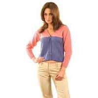 N038 2-color Cardigan