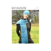 Reynolds 82269 Dominoe Scarf & Hat