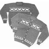 Yankee Knitter Designs 15 Women's Heart Sweater Pullover or Cardigan