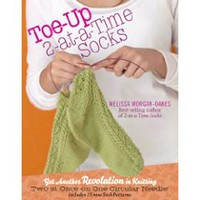 2-at-a-Time Toe-Up Socks with Melissa Morgan-Oakes