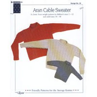 35 Aran Cable Sweater
