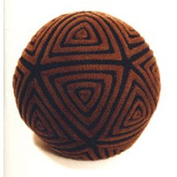 Icosa Welt Ball Pillow