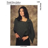 1399 Lattice Shawl (King George)