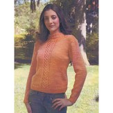 Artyarns I104 Cable Sweater