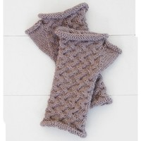 Cabled Mitts PDF