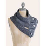 Blue Sky Alpacas Tri-Button Cowl PDF