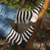 Cat Bordhi Zebra Socks PDF