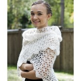Cascade Yarns A224 Cloud Wrap (Free)