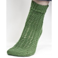 FW115 Heritage Green Textured Socks (Free)