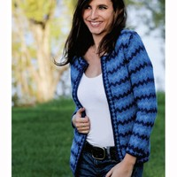 W230 Women's Tonal Fair Isle Jacket (Free)