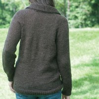 W383 Shawl Sweater (Free)