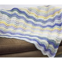 W446 Waves and Sunshine Blanket (Free)