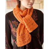 Classic Elite Yarns Katydid Drop Everything Scarf (Free)
