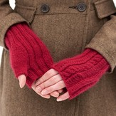 Classic Elite Yarns Lush Fingerless Mitts (Free)