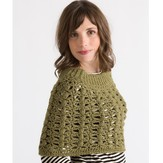Classic Elite Yarns Crocheted Capelet (Free)