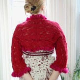 Classic Elite Yarns Kimberly Shrug (Free)