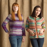 Classic Elite Yarns 1417 Simple Sweaters With Pockets PDF