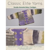 Classic Elite Yarns 9208 Double Breasted Cardigan PDF