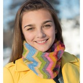 Classic Elite Yarns 9246 Doubled Chevron Cowl PDF