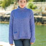 Classic Elite Yarns Viewpoints 1514 From Folly Cove - Natti Turtleneck PDF