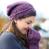 Connie Chang Chinchio Cayuga Hat & Mitten Set