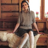 Debbie Bliss Cabled Sweater PDF