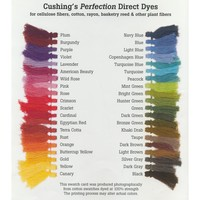Cushing's Perfection Direct Dyes