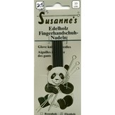 "Susanne's Ebony 4"" Double Point Glove Needles"