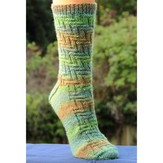 Lisa Ellis Designs A-31 Corn Maize Socks PDF