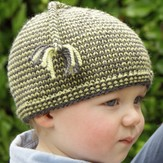 Lisa Ellis Designs H-27 Jogless Striped Hat PDF