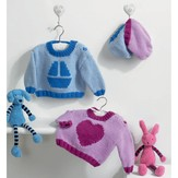 Euro Lily and George Sweaters with Matching Hats PDF