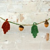 Crocheted Fall Botanicals