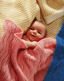 Fiber Trends CH23 Easy Knit Baby Blankets