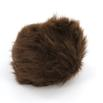 Universal Yarn Luxury Fur Pom Poms - Dkbrown