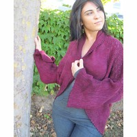 Bougainvillea Lace Shrug PDF