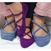 Gardiner Yarn Works Ballerina Slippers PDF