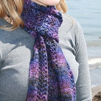 Midnight Lace Scarf PDF