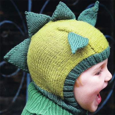 Animal Hat Knitting Patterns : Knitted Animal Hats at WEBS Yarn.com