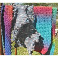 Simply Fabulous Single Crochet Scarves PDF