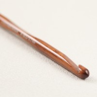 Rosewood Crochet Hook