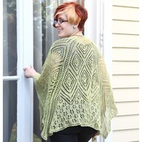Nesting Diamonds 3/4 Shawl